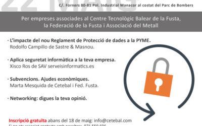 Pròxima Jornada Protecció de Dades i Seguretat Informàtica