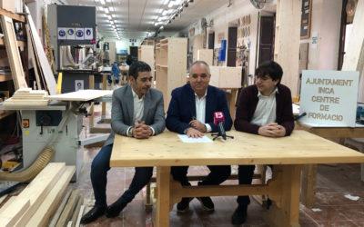Acuerdo de colaboración para formar trabajadores del sector de la madera y el mueble