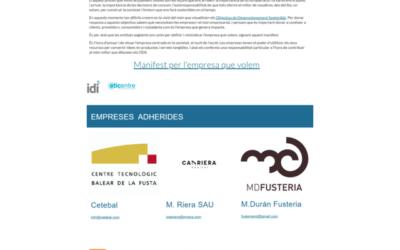 Las empresas del sector de la madera balear se adhieren a la iniciativa promovida por el @idi_balears – LA EMPRESA QUE QUEREMOS –