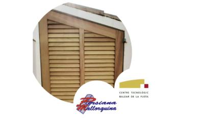 Persiana Mallorquina especialistas en la fabricación de la persiana de madera