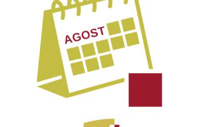 Bon estiu – horari d'agost