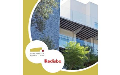 Proyecto de revestimiento de fachada de REDISBA, empresa asociada a CETEBAL
